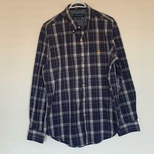 US Polo AssN Plain LongSleeve ButtonDown Shirt